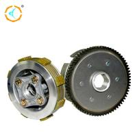 China Chongqing Motorcycle Clutch Kits , CG125 Motorcycle Centrifugal Clutch / Silver Color on sale