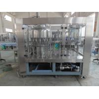 Soda Washing Filling Capping Machine 4Kw With 6 pcs Capping Head Manufactures