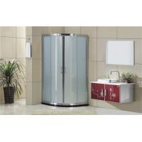 Silding Quadrant Shower Cubicles with  Bright Silver Aluminum Frame Manufactures