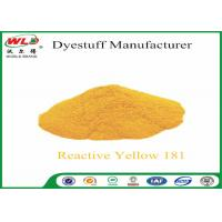 C I Reactive Yellow 181 Cotton Dyeing With Reactive Dyes Powder Fabric Dye Manufactures