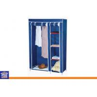 Quality Metal Tube Portable Nonwoven Fabric Bedroom Wardrobe for