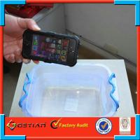 Cool Black TPU PC iPhone 5s Waterproof Case / Shockproof Accessories Cover Manufactures