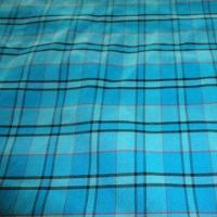 Nylon ATY plaid stretch fabric, cotton texture for shirt and fashionable garment Manufactures