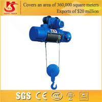 Low headroom compact electric winch electric hoist Manufactures