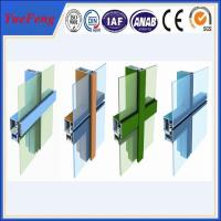 competitive price aluminium curtain wall powder coated aluminium profile Manufactures