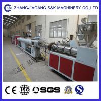 Soft PVC Pipe Extruder Machine Single Screw Extrusion Process Manufactures