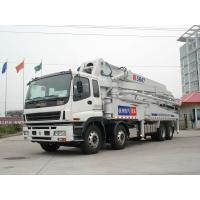 Stable Performance 8x4 47 Meters Mobile Concrete Pump Trucks Safety Manufactures