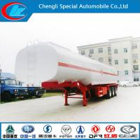 Stainless Steel 30000-80000 Liters Fuel Tank Trailer, Oil Tanker Semi Trailer Manufactures