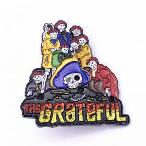 China Custom Logo Size Craft Metal Dye color soft  enamel  lapel pins on sale