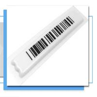 China Retail security am eas rf label/Eas system rf label for supermarket on sale