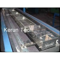 Windows Plastic Profile Production Line , PVC Door Making Machine CE Manufactures