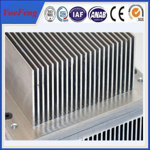 Aluminium industrial profile extrusion, Aluminium fin radiator, aluminium heat sink Manufactures