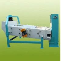 China TQLZ 150x200 Grain Pre Cleaner Is Designed With Double Decked Sieve on sale