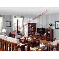 Quality High Quality Solid Wooden Frame with Upholstery Sofa Set for sale
