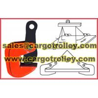China horizontal lifting clamps pictures on sale