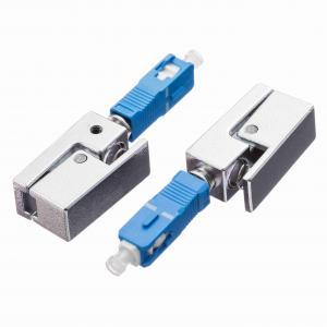 SC Bare Fiber Adaptor Square Shape Single Mode UPC Polishing Manufactures
