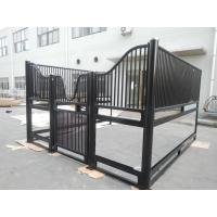 Quality Indoor Heavy Duty Metal Stall Doors , Portable Horse Stall Kits With Horse Stall for sale