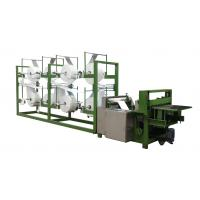 50HZ Auto Non Woven Slitting Machine For Fabric , High Speed And Accuracy Manufactures