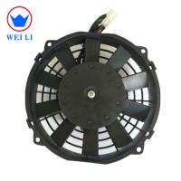 Bus/Truck Roof Top Air Conditioner Parts 8 Inch Condenser Cooling Fan Manufactures