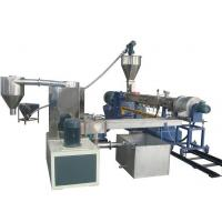 Quality Professional Customerized Twin Screw PP / PE Pellet Making Machine for sale