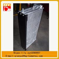 excavator spare parts pc450 hydraulic oil cooler ,pc450 water tank Manufactures