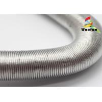 Quality Colorful Aluminum Flexible Car Exhaust Hose Heat Protection With Paper Craft for sale