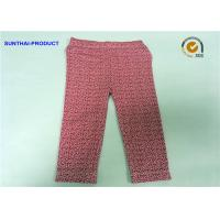 Floral Print Cute Baby Girl Leggings In Cotton Spandex Sample Available Manufactures