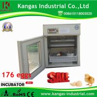 Manufacturning Microcomputer Poultry Chicken Incubator Eggs 176 Eggs Manufactures