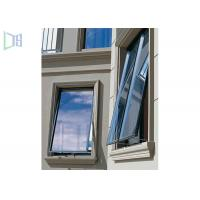 Quality Thermal Break Aluminium Glass Awning Top Hung Window Horizontal Opening for sale