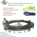 Saving 65% of your Power! PU sole molding machine shoe machine Manufactures