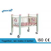 Enameled Steel Side Rails Pediatric Hospital Beds Full Length Protection Manufactures