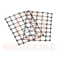 High Strength PP Biaxial Geogrid For Slope Stabilization / Retaining Walls Manufactures