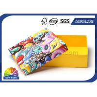 Rectangle Chocolate Rigid Gift Box , Rigid Paper Packaging Box With Lid Manufactures