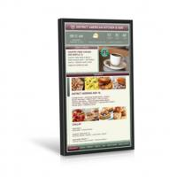 Quality 49 Inch Video Wall Mount LCD Display Plug In Play 178° Viewing Angle Kiosk Touch Screen for sale