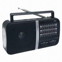 China FM Radio with USB/Card Player, Torch Function on sale