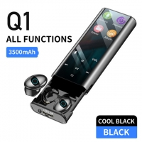 China  				Q1 Wireless Bluetooth Earphone Earbuds Multi-Function MP3 Player Headset Ipx7 Waterproof 9d Tws Headphone (with 3500mAh Power Bank Charging Case) 	         on sale
