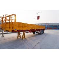 3 axle 40 cargo trailer wall panels semi flatbed trailers - CIMC Manufactures