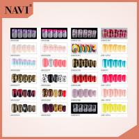 China ABS Airbrush Artificial Nail Tips Glitter Artificial Designed Nail Art Tip on sale