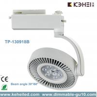 18W CREE XP-E Chips Italian style LED Track Lights With Pure Aluminum heatsink Manufactures