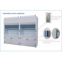 Floor Mounted Walk Lab Fume Cupboard Custom Made Microprocessor Control System Manufactures