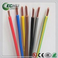 Flame Retardant Cables, Single Core Wire Strands Conductor H07V-k 150.0MM2 Manufactures