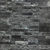 Natural stone , China Black Granite Ledge Stone, Stacked Wall Cladding Manufactures