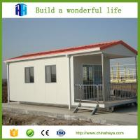 Cheap export mini 1 bedroom eco friendly mobile homes design 28.91m2 Manufactures