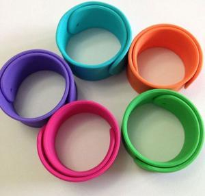 silicone bracelet ,silicone slap wristbands