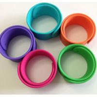 Quality silicone bracelet ,silicone slap wristbands for sale