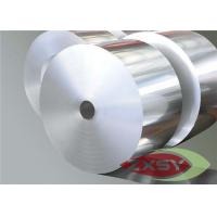 1040mm Wide Aluminium Foil Roll , AL Foil Jumbo Roll Heat And Acoustic Insulation Manufactures