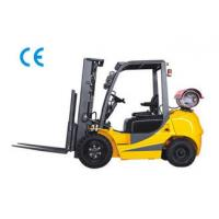 Dual Fuel Four Wheel Gasoline LPG Forklift 3000kg Capacity With Engine Protection Lock Manufactures
