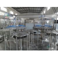 50HZ / 3 PHASE Carbonated Drink Filling Machine For 500ml Sparkling Water Manufactures