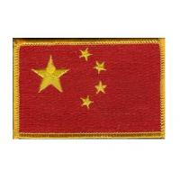 4cm*3cm, iron-on, twill fabric or velvet fabric embroidered flag patches for navy, jeans Manufactures