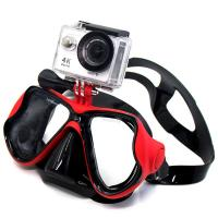 Snorkel Adult Diving Mask Anti Fog Lens Silicone Strap Material Gopro Mount Manufactures
